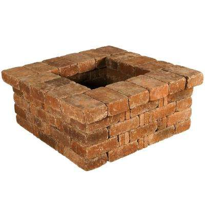 RumbleStone 42 in. x 17.5 in. x 42 in. Square Concrete Planter Kit in Sierra Blend