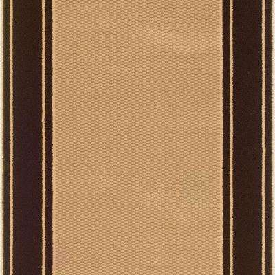 Kurdamir Washington Brown 26 In. X Your Choice Length Stair Runner
