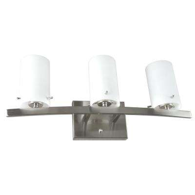 Inspire 3-Light Satin Nickel Bath Light