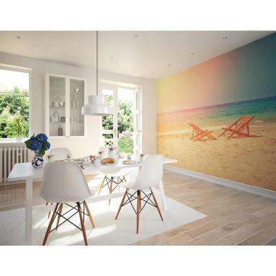 118 in. x 98 in. Happy Place Wall Mural