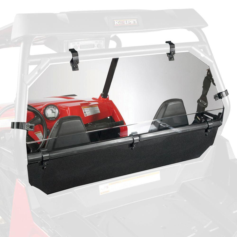 null RZR Rear Shield and Back Panel Combo (2011 RZR 900XP)