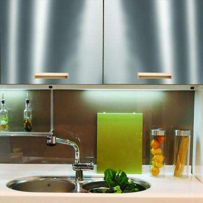 Stainless Steel Adhesive Shelf Liner (Set of 6)