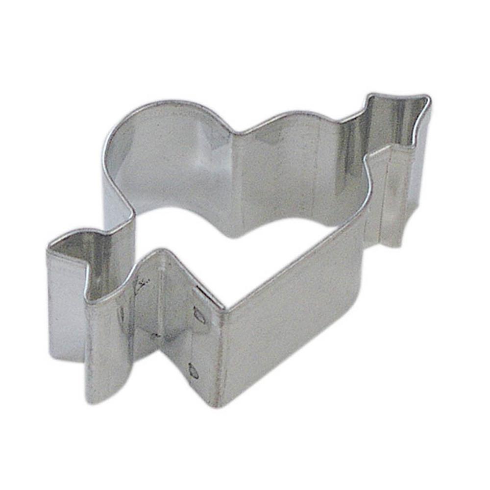 12-Piece Mini Heart & Arrow Tinplate Steel Cookie Cutter & Recipe