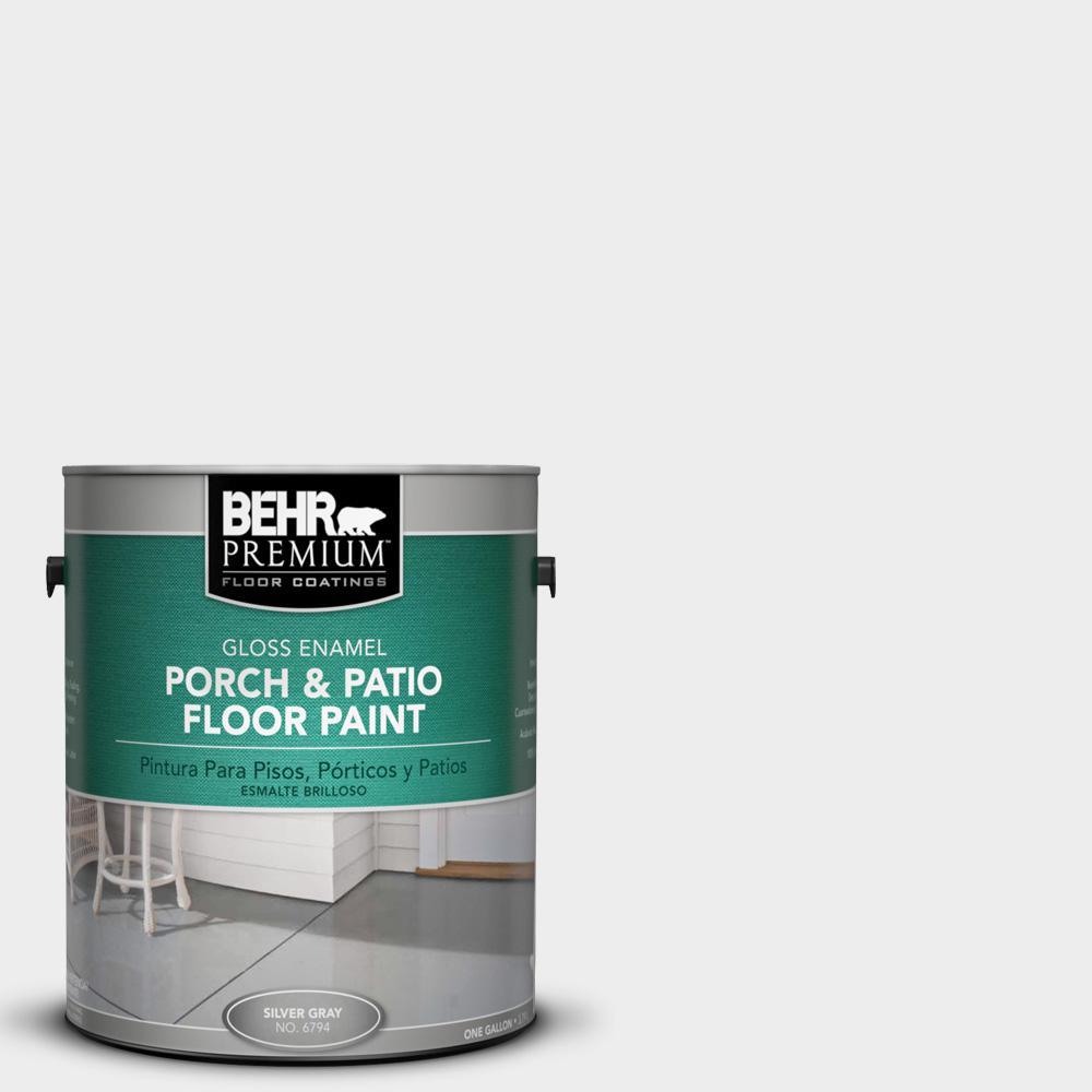 1 gal. #760E-1 Igloo Gloss Interior/Exterior Porch and Patio Floor Paint