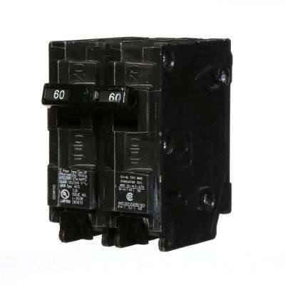 60 Amp Double-Pole Type QP Circuit Breaker