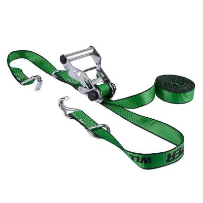 1.25 in. x 16 ft. Chrome Ratchet Tie Down (4-Pack)