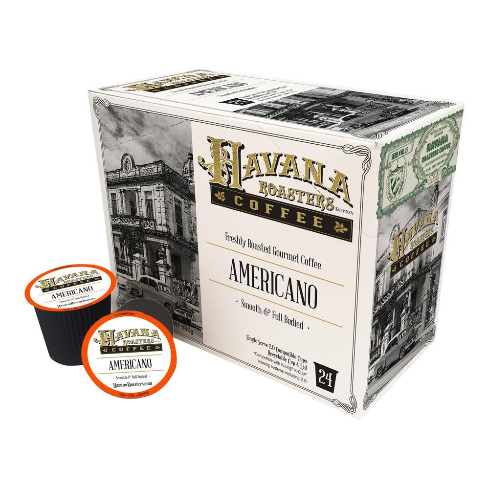Americano 24 K-Cups Coffee Box (4-Boxes)