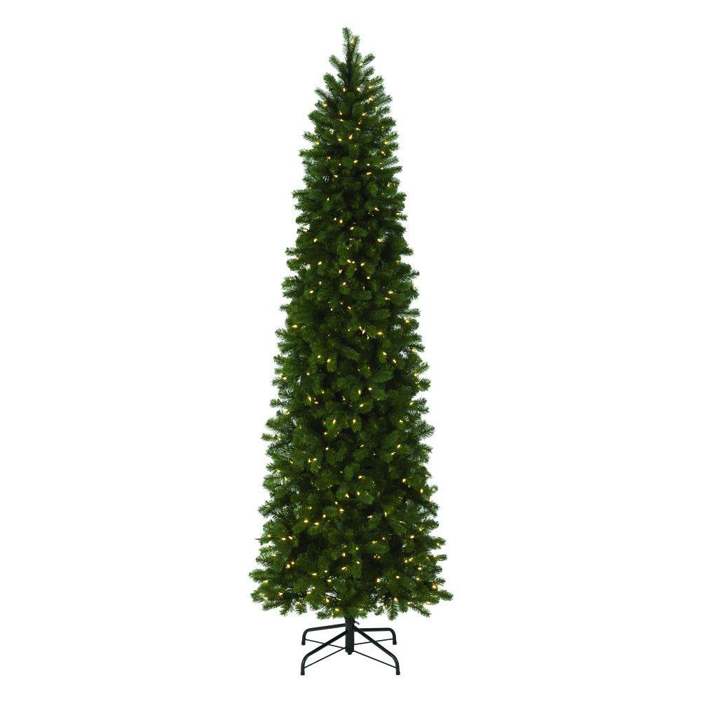 Martha Stewart Living 9 Ft Indoor Pre Lit LED Downswept Douglas  - Artificial Christmas Tree 9 Ft