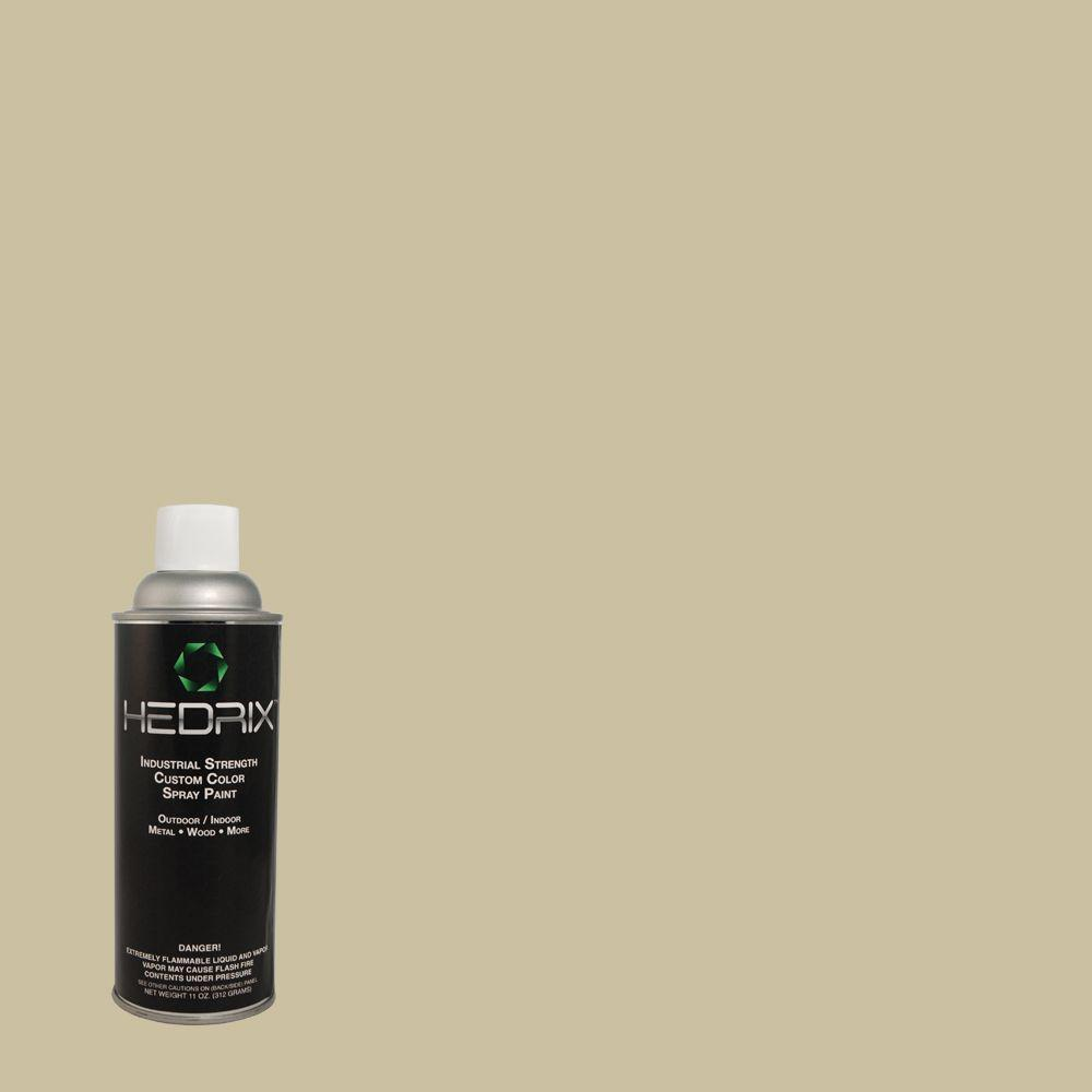 Hedrix 11 oz. Match of Formal Khaki PPOC-29 Low Lustre Custom Spray Paint (2-Pack)