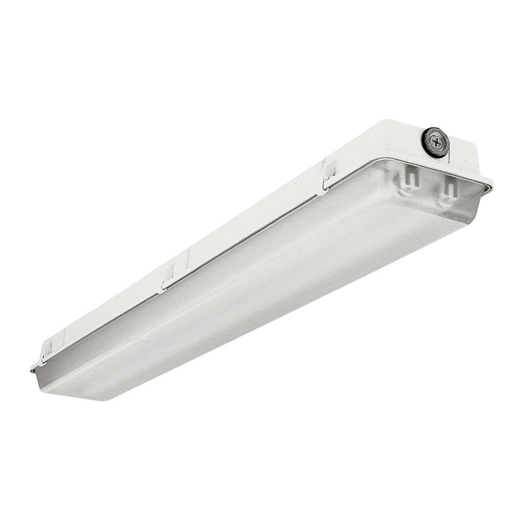 Lithonia Lighting 4 ft. 2-Light White Fluorescent T8 Wet Light Strip ...