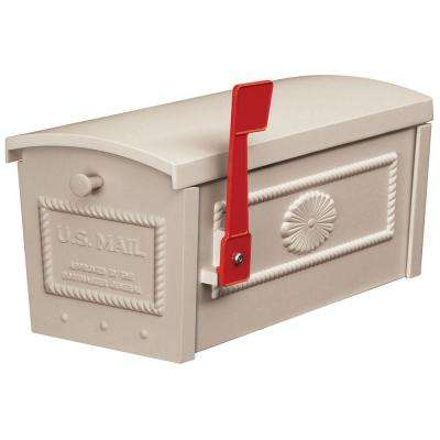 4500 Series Post Style Townhouse Mailbox in Beige