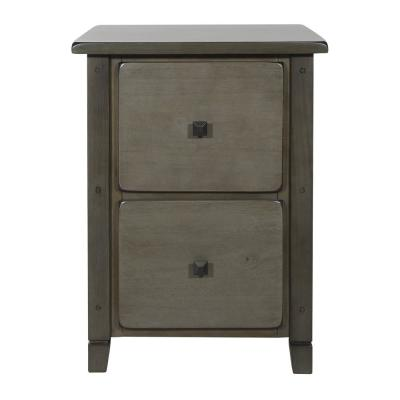 Hillsboro File Grey Wash Cabinet