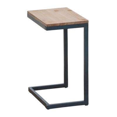 Everleigh Antique C-Shaped Accent Table