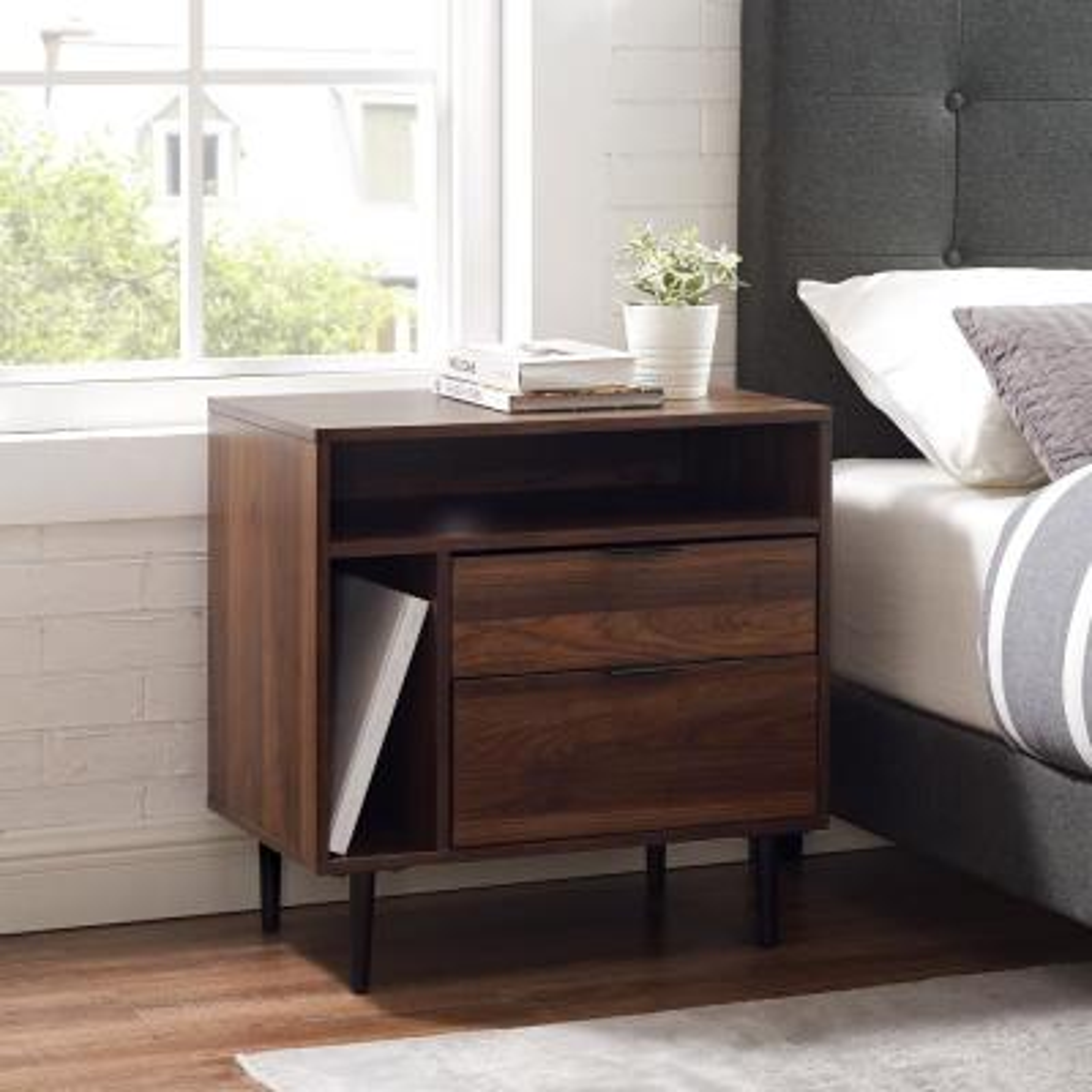Dark Walnut - Bedroom Furniture - Furniture - The Home Depot