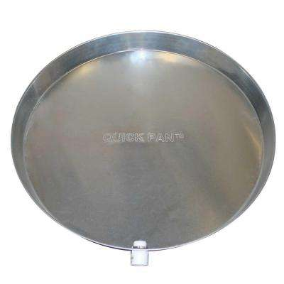 24 in. Aluminum Water Heater Pan (Box of 6)