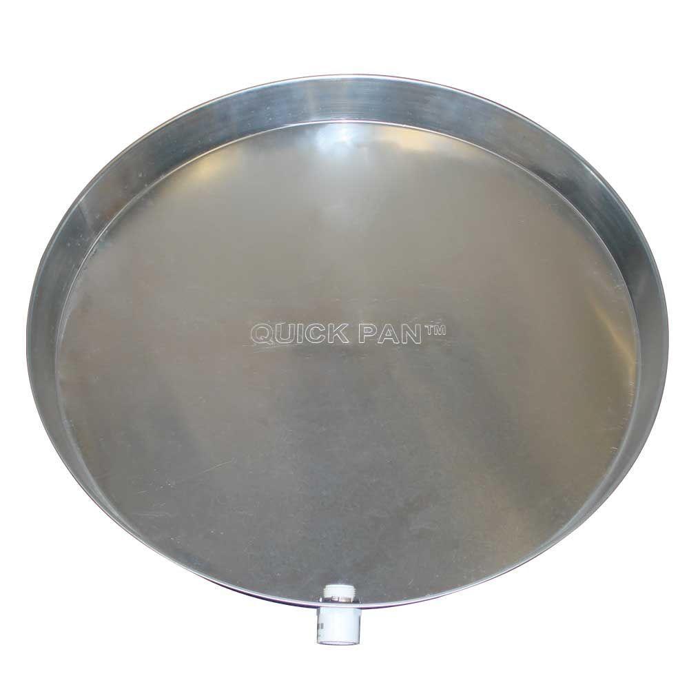 24 in. Aluminum Water Heater Pan (Box of 6)