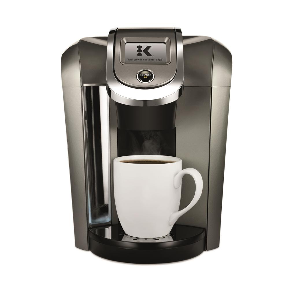 single cup coffee makers keurig single serve coffee maker 5000068967 the home depot 30631