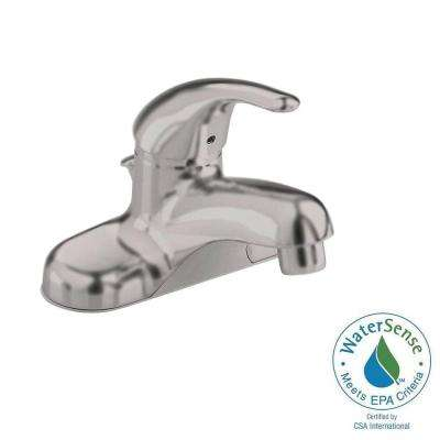 Colony Soft 4 in. Centerset Single Handle Bathroom Faucet in Brushed Nickel
