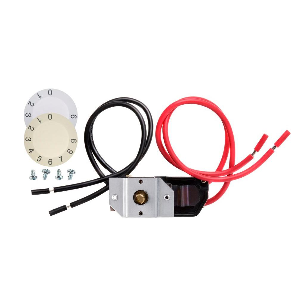 Dimplex Double Pole Built In Thermostat Kit Dtk Dp The Home Depot Iris 3 Way Switch Wiring
