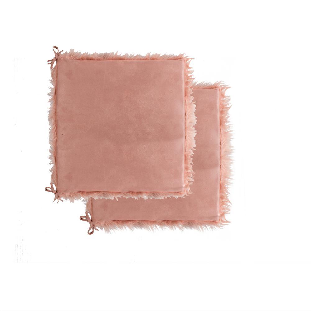 Tremendous Luxe L 100 Faux Fur Laredo Dusty Rose Faux Sheepskin Fur Machost Co Dining Chair Design Ideas Machostcouk