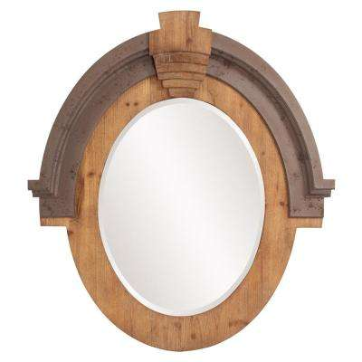 Hudson Oval Decorative Mirror