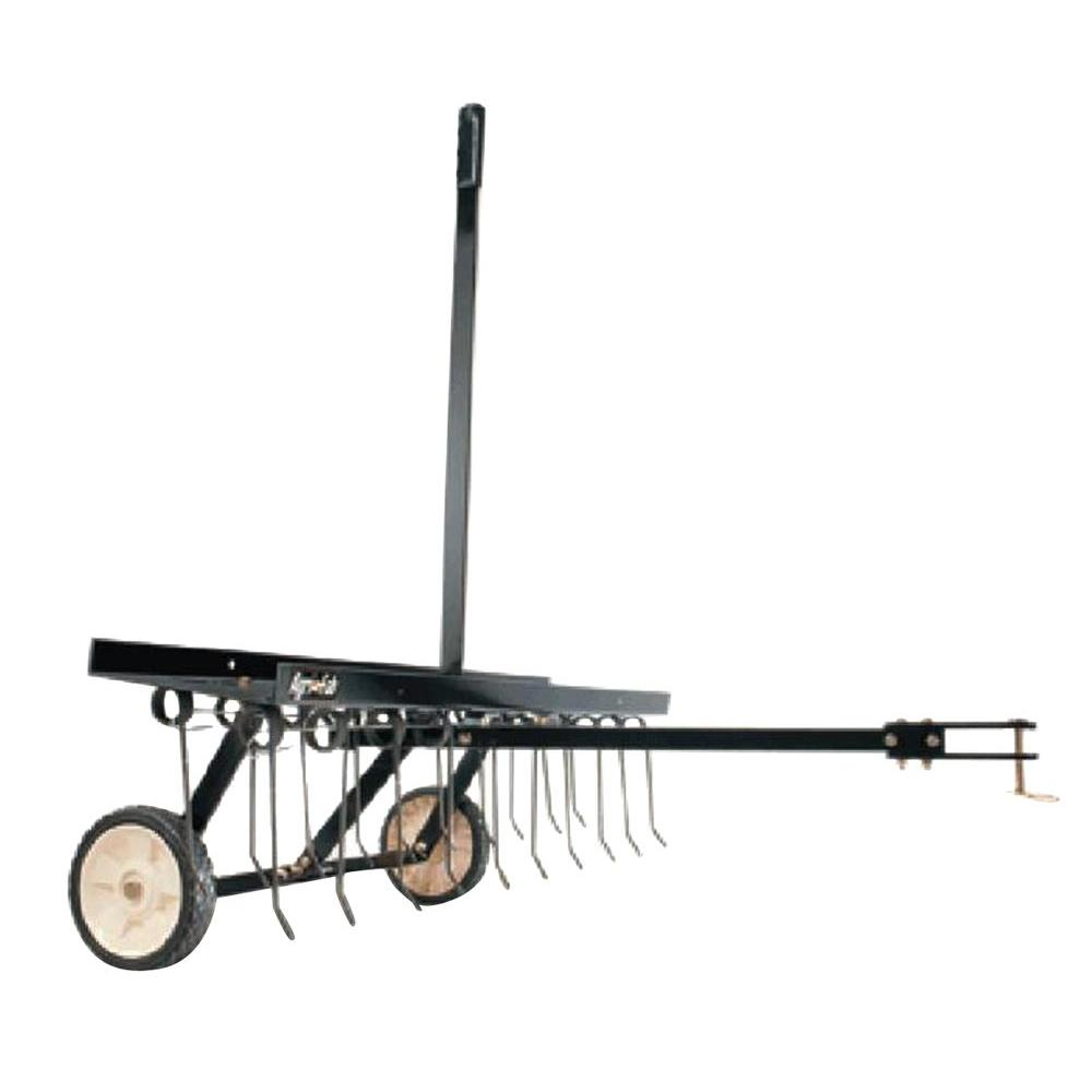 40 in. Tow Lawn Dethatcher