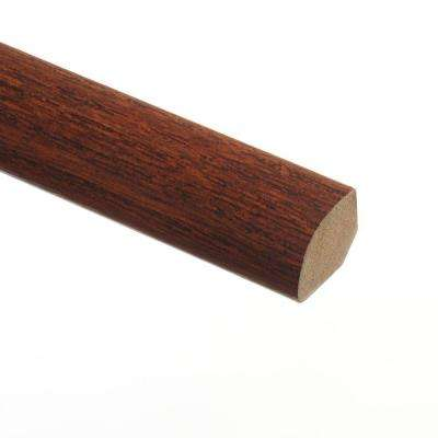 Red Mahogany 5/8 in. Thick x 3/4 in. Wide x 94 in. Length Vinyl Quarter Round Molding