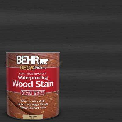 1 gal. #ST-102 Slate Semi-Transparent Waterproofing Exterior Wood Stain