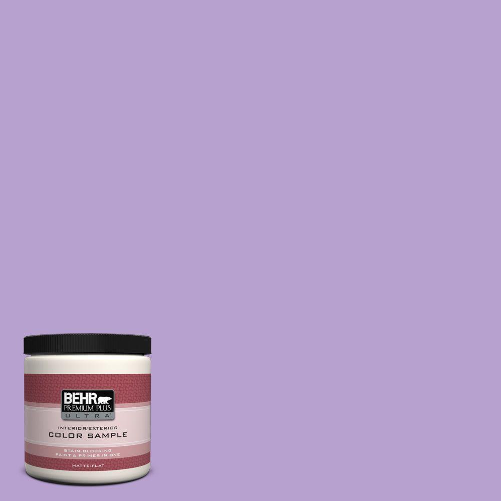 BEHR Premium Plus Ultra 8 oz. #P570-3 Flower Girl Interior/Exterior Paint Sample