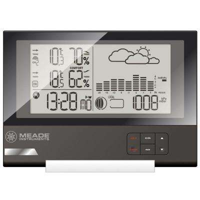 Slim Line Personal Weather Station with Atomic Clock and TS21C Remote Sensor