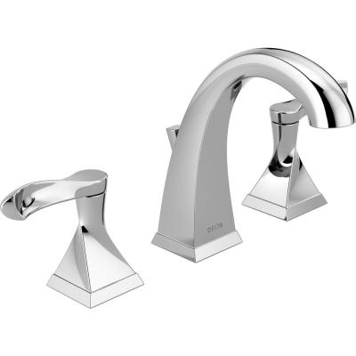 Everly 8 in. Widespread 2-Handle Bathroom Faucet in Chrome