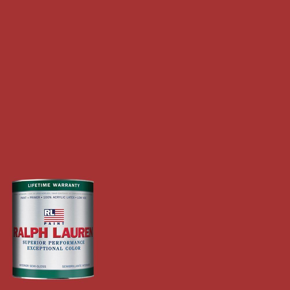 Ralph Lauren 1-qt. Stateroom Red Semi-Gloss Interior Paint