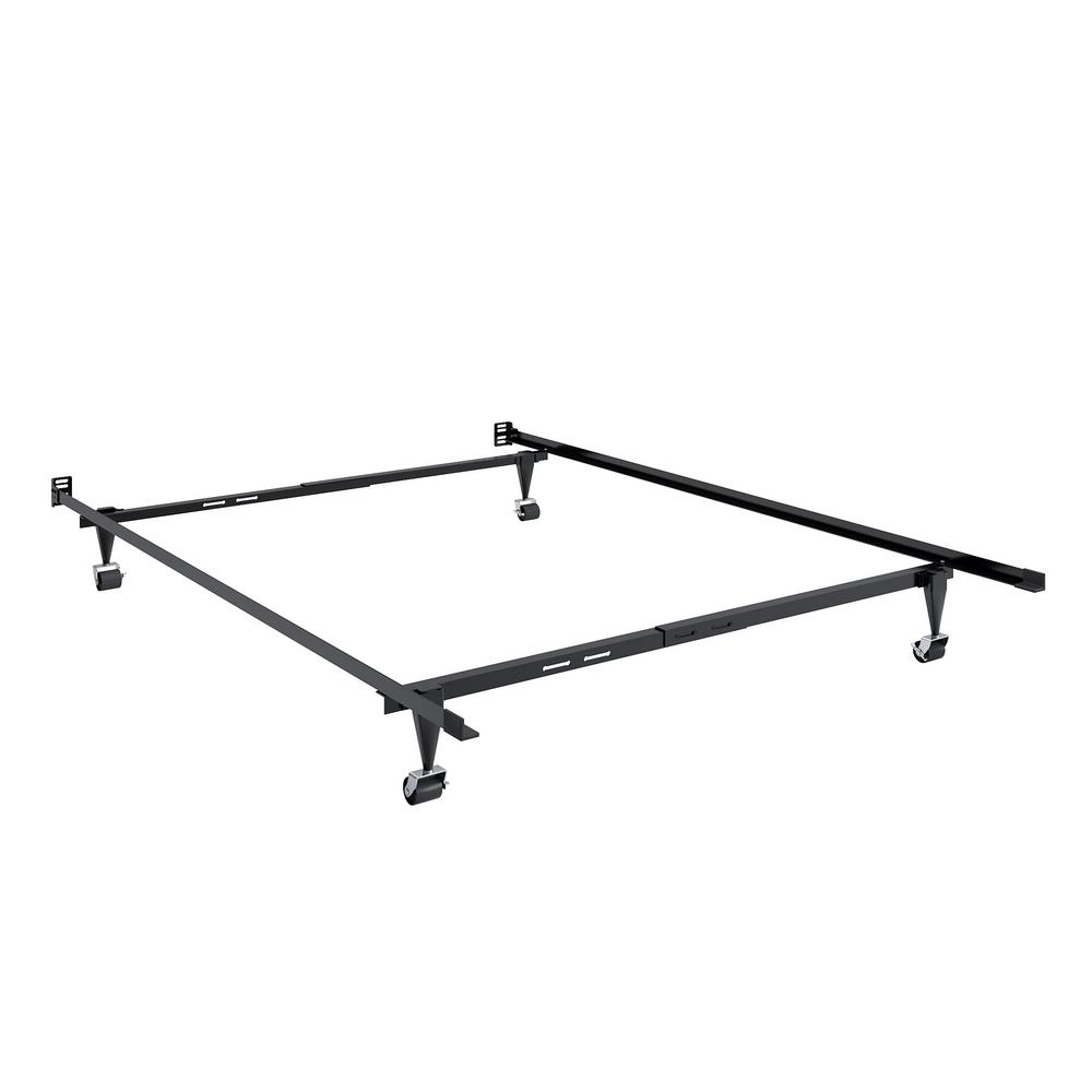 Adjustable Twin and Single or Full and Double Metal Bed Frame