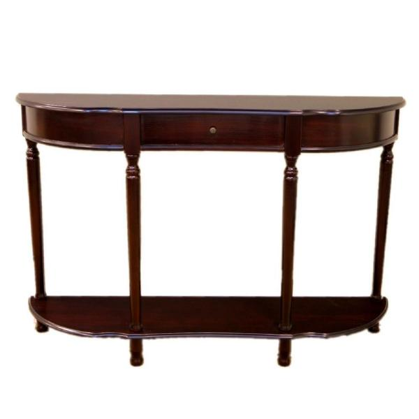 Console Table Stunning Hall Sideboard 2 //3 Drawers Solid Wood Bottom Shelf  UK