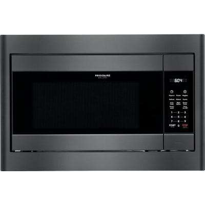 2.2 cu. ft. Built-In Microwave in Black Stainless Steel with Sensor Cooking Technology