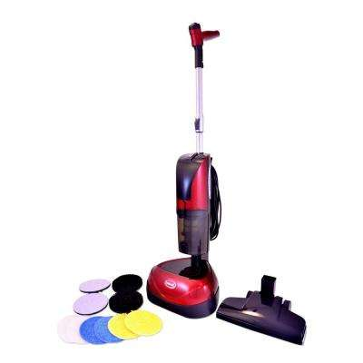 4-in-1 Floor Cleaner, Scrubber, Polisher and Vacuum with 23 ft. Power Cord
