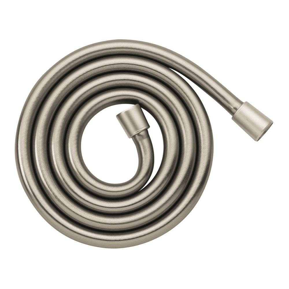 Hansgrohe Techniflex 80 in. Shower Hose in Brushed Nickel