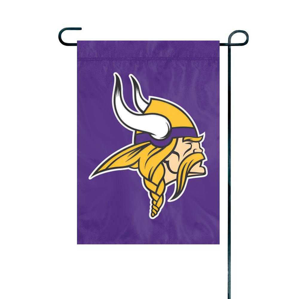 Beau Party Animal, Inc. Minnesota Vikings Premium Garden Flag