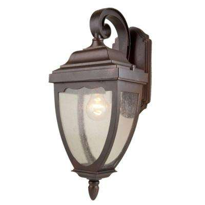 Aeolia 1-Light Oil-Rubbed Bronze Outdoor Sconce