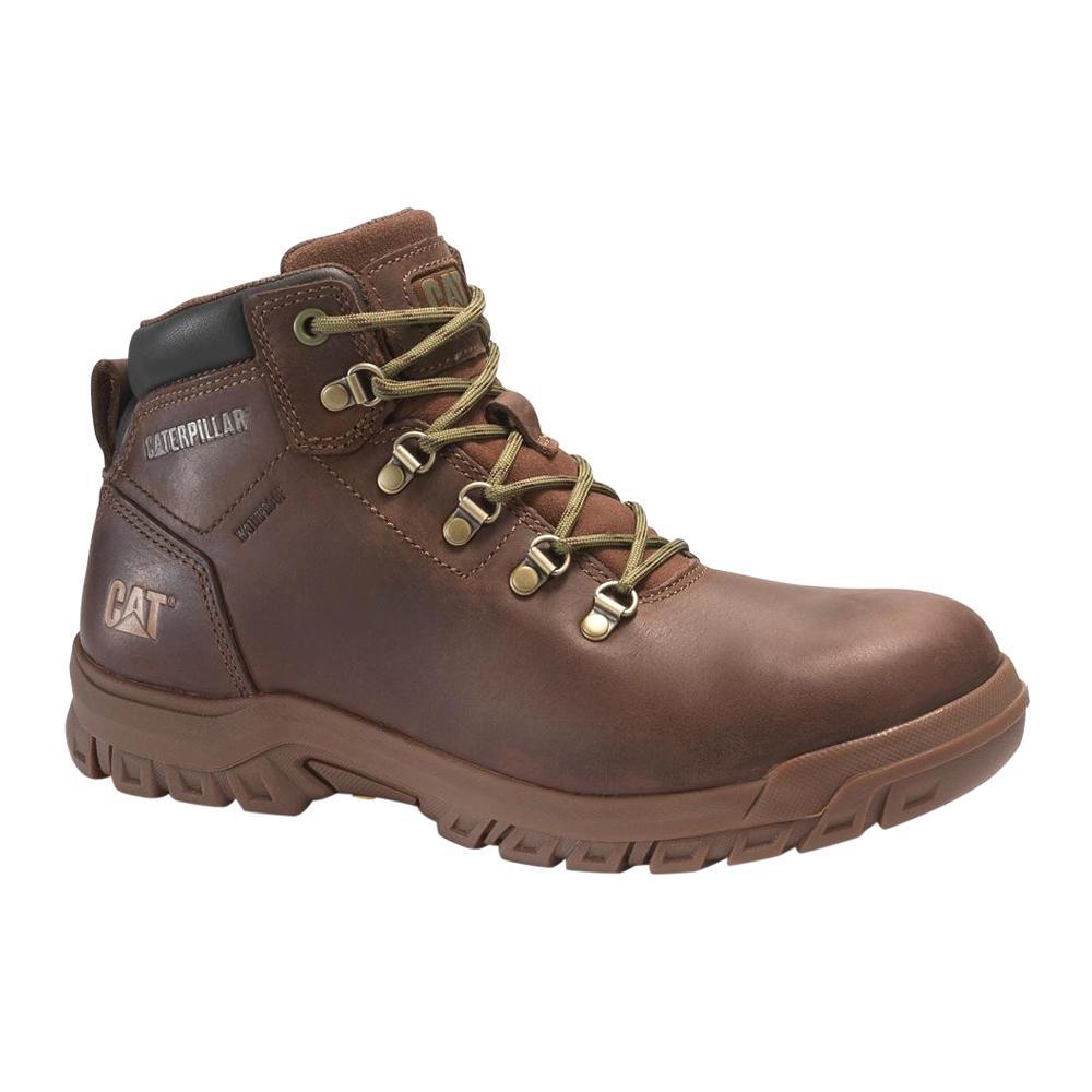 45d16d8216f CAT Footwear Women's Size 9 Cocoa Grain Leather Mae Waterproof Steel Toe  Work Boots