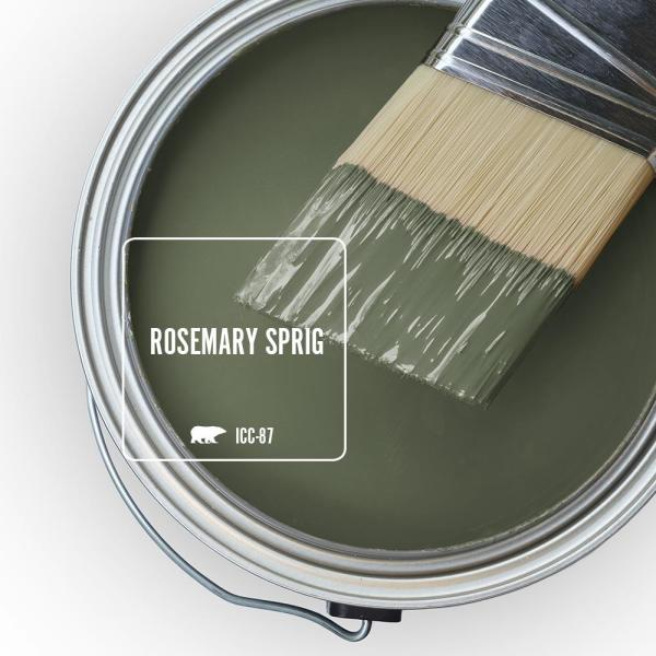 Reviews For Behr Premium Plus 1 Qt Icc 87 Rosemary Sprig Flat Low Odor Interior Paint And Primer In One 130004 The Home Depot