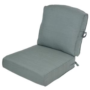 Surplus 2-Piece Deep Seating Outdoor Lounge Chair Cushion by