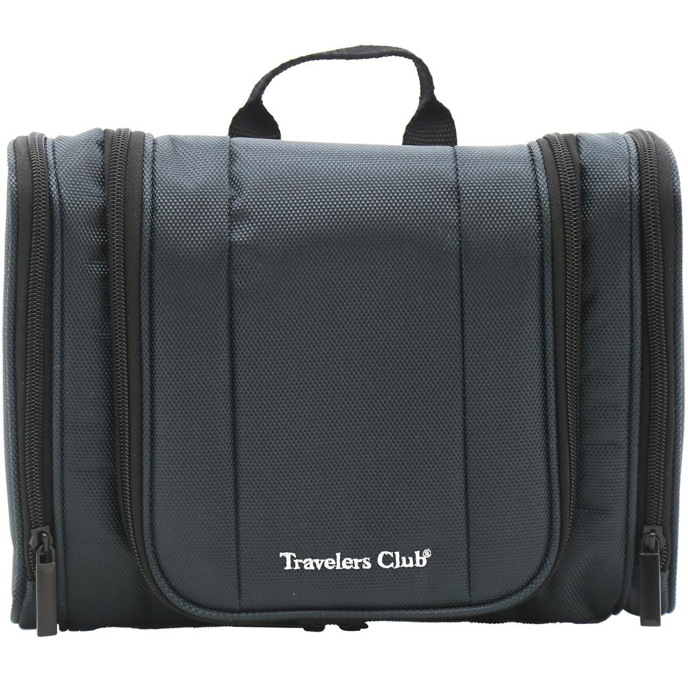 819211c5edfe Travelers Club Multi-Pocket Hanging Toiletry Kit with Hook