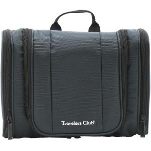 HomeDepot.com deals on Travelers Club Multi-Pocket Hanging Toiletry Kit w/Hook
