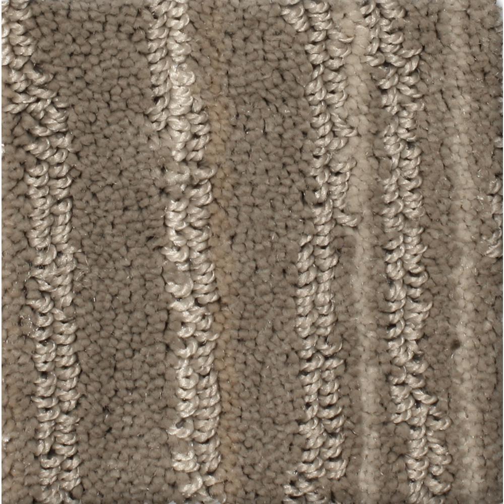 Carpet Sample - Jump Line II - Color Zoom Pattern 8 in. x 8 in.