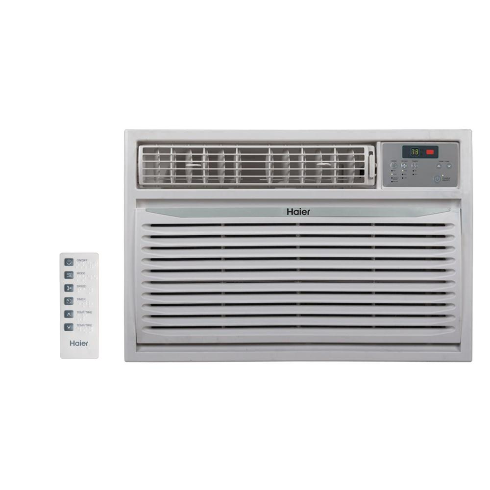 24,000 BTU High Efficiency Window Air Conditioner with Remote in White