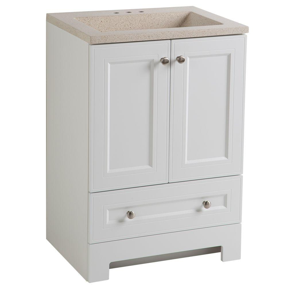 Maydene 24 in. W x 19 in. D Bathroom Vanity in
