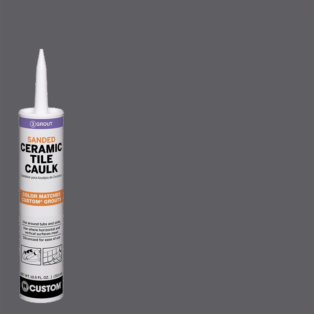 Polyblend #370 Dove Gray 10.5 oz. Sanded Ceramic Tile Caulk