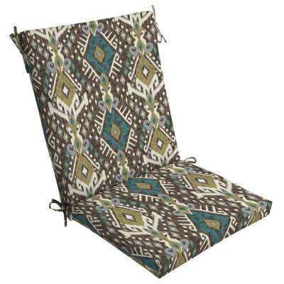 Tenganan Outdoor High Back Dining Chair Cushion