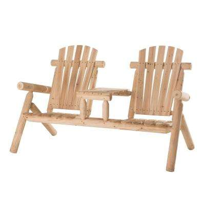 Fairbanks Natural Brown Patio Conversation Set